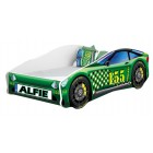 Pat Tineret Race Car 04 Green 160x80 - MyKids