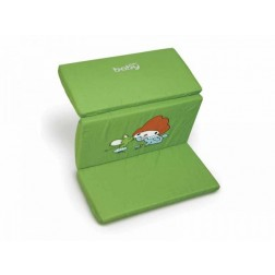Saltea pentru joaca cu geanta de transport in doua culori Just Baby verde