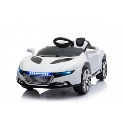 Masinuta electrica copii Concept Car A228 alba 6V cu telecomanda parinte - Trendmax