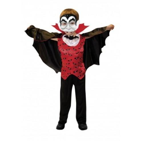 Costum Carnaval Copii Vampir Contele Dracula 6-8 ani