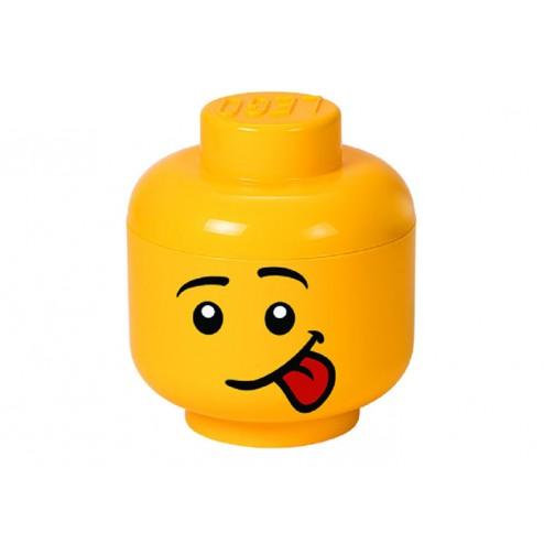 LEGO Cutie depozitare cap minifigurină - Silly