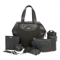 Geanta multifunctionala City Bag Black, Babymoov