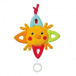 Jucarie muzicala Soare - Brevi Soft Toys