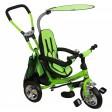 Tricicleta cu sezut reversibil Safari Break 360° Green
