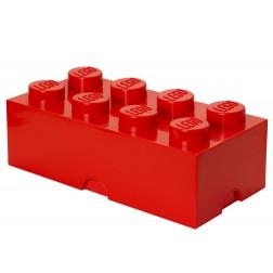 Cutie depozitare LEGO 2x4 rosu