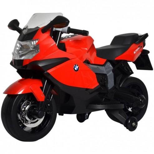 Motocicleta BMW 6V Lancer - Sun Baby - Rosu