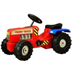 Tractor cu pedale Hard Truck red