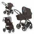 Set Carucior Montreal Plus Easy Travel Black