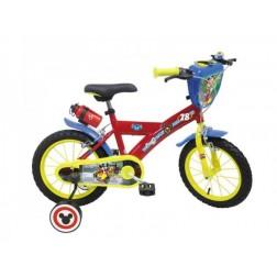 Bicicleta pentru baieti Mickey Mouse 16 inch - Mondo